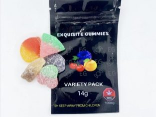 Exquisite Gummies 100mg THC