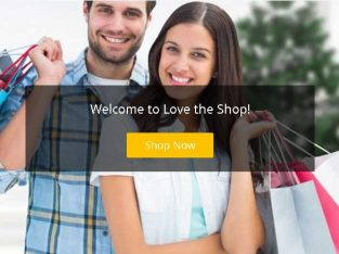 Love The Shop – online store with great selection