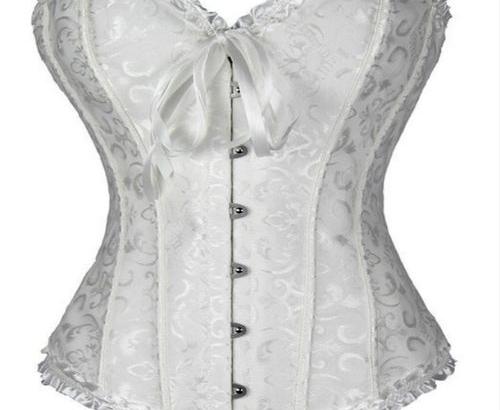 Shop Handmade White Bridal Corset Online