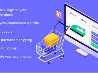 Ecommerce Website design & development Toronto